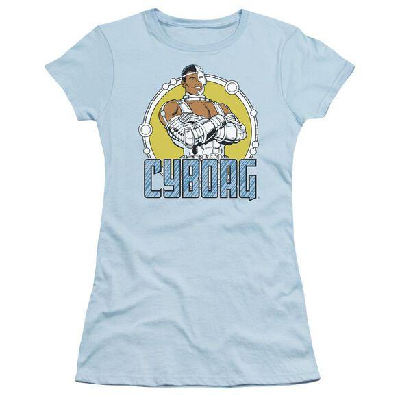 Dc Cyborg Short Sleeve Junior Sheer Carolina T-Shirt