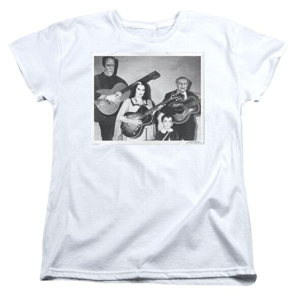 The Munsters Play It Again Short Sleeve Womens Tee T-Shirt
