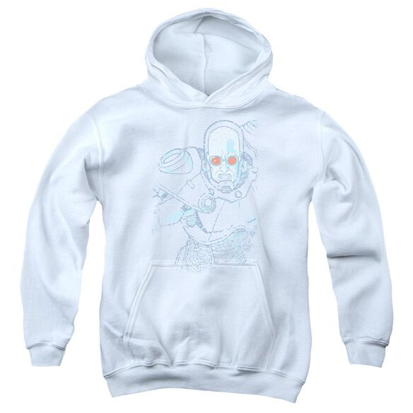 Batman Snowblind Freeze Youth Pull Over Hoodie