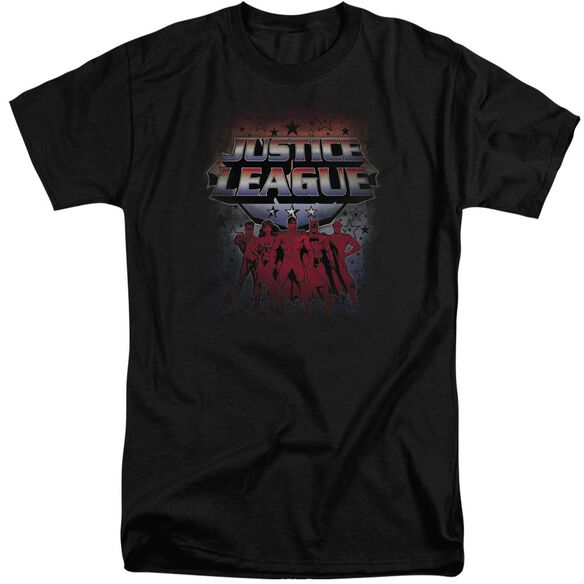 Jla Star League Short Sleeve Adult Tall T-Shirt