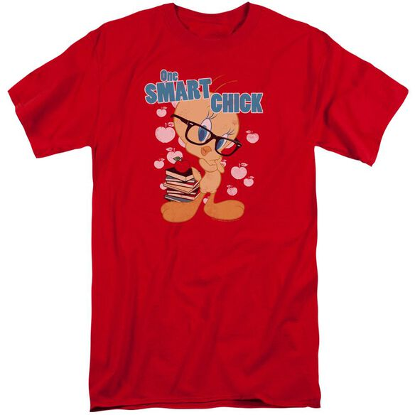 Looney Tunes One Smart Chick Short Sleeve Adult Tall T-Shirt