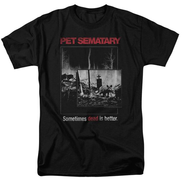 Pet Semetary Cat Poster Short Sleeve Adult T-Shirt