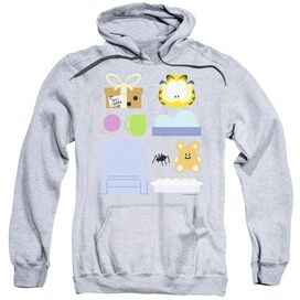 Garfield Gift Set Adult Pull Over Hoodie Athletic