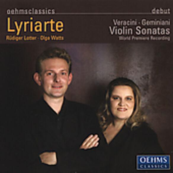 Lyriarte - Violin Sonatas