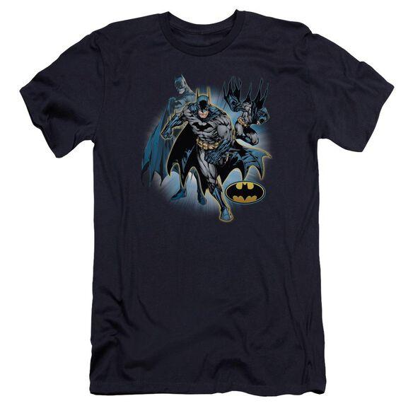 Jla Batman Collage Premuim Canvas Adult Slim Fit