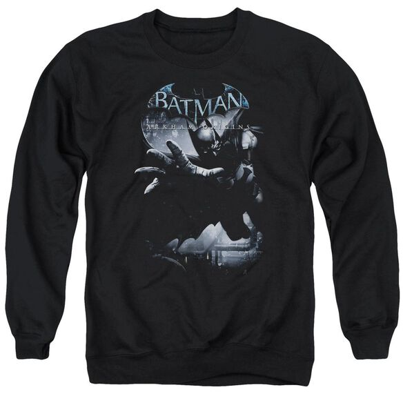 Batman Arkham Origins Out Of The Shadows Adult Crewneck Sweatshirt