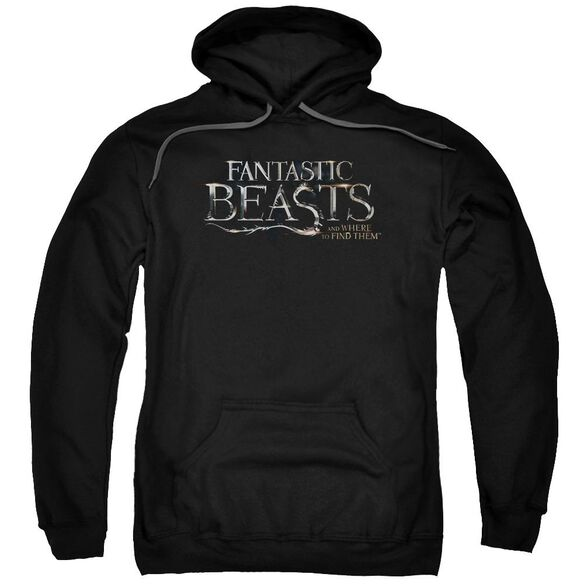 Fantastic Beasts Logo Adult Pull Over Hoodie