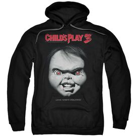 Childs Play 3 Face Poster - Adult Pull-over Hoodie
