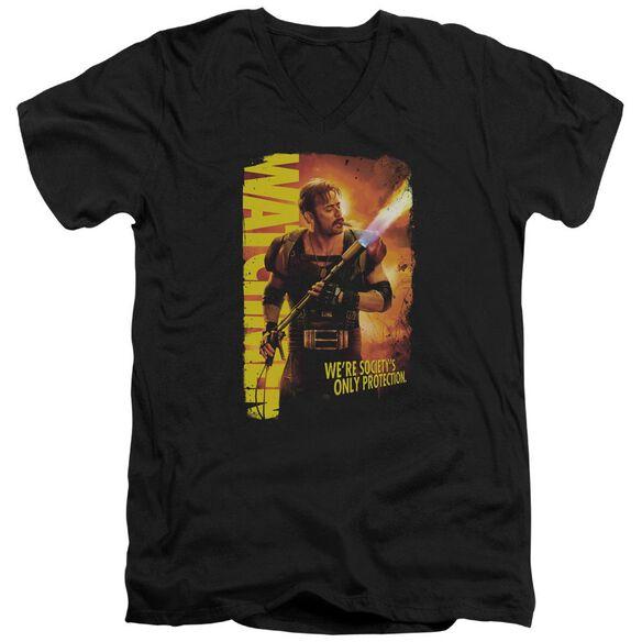 Watchmen Smoke Em Short Sleeve Adult V Neck T-Shirt