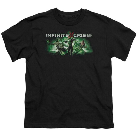 Infinite Crisis Ic Green Short Sleeve Youth T-Shirt