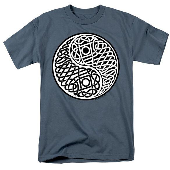 CELTIC YING YANG - ADULT 18/1 - SLATE T-Shirt