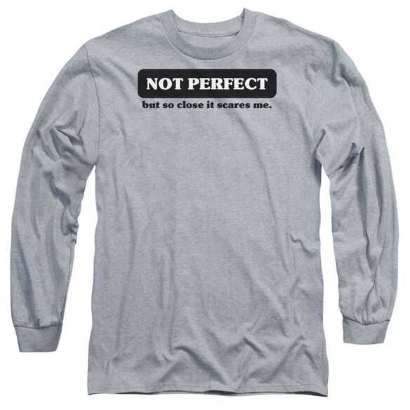 Not Perfect Long Sleeve Adult Athletic T-Shirt