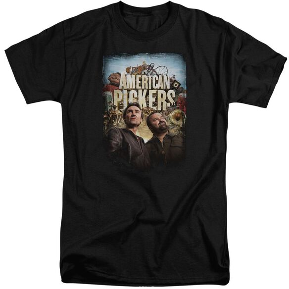 American Pickers Picker Poster Short Sleeve Adult Tall T-Shirt
