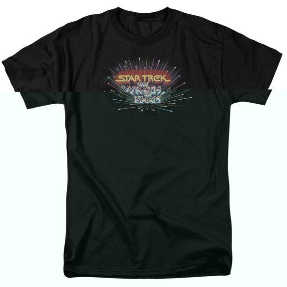 Star Trek Khan Logo Short Sleeve Adult T-Shirt