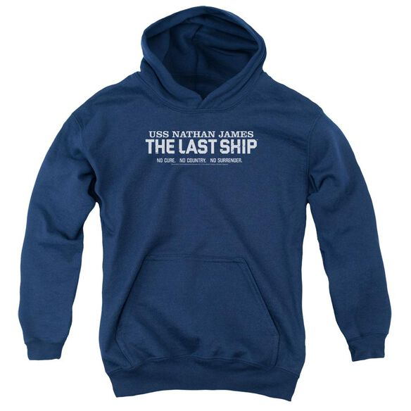 Last Ship Find The Cure Youth Pull Over Hoodie