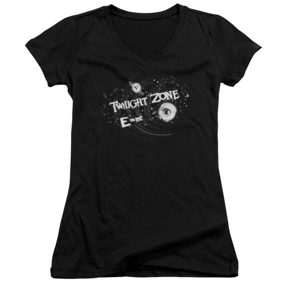 Twilight Zone Another Dimension - Junior V-neck - Black
