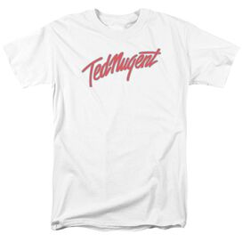 Ted Nugent Clean Logo Short Sleeve Adult T-Shirt