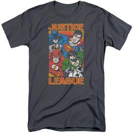 Jla Hero Mashup Short Sleeve Adult Tall T-Shirt