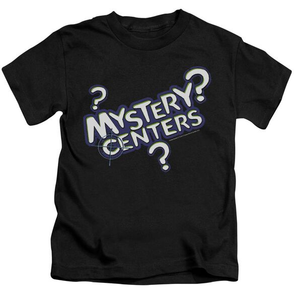 Dubble Bubble Mystery Centers Short Sleeve Juvenile Black T-Shirt