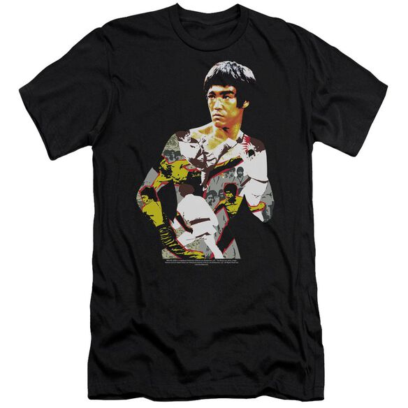 Bruce Lee Body Of Action Short Sleeve Adult T-Shirt