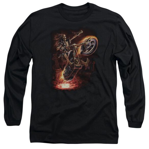 Anne Stokes Hellrider Long Sleeve Adult T-Shirt