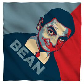 Mr Bean Poster Bandana White