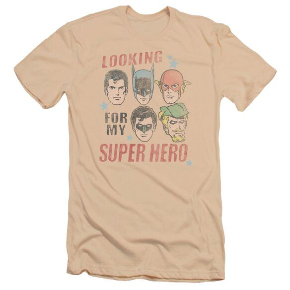 Jla My Super Hero Premuim Canvas Adult Slim Fit