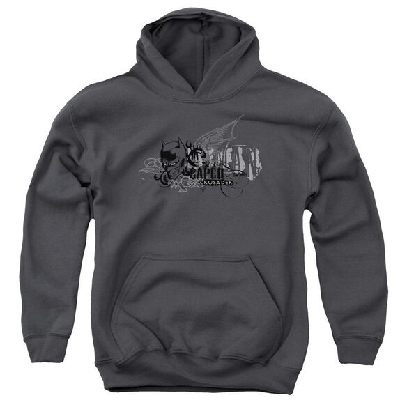 Batman Urban Crusader Youth Pull Over Hoodie