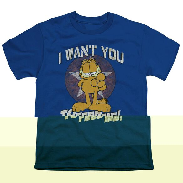 GARFIELD I WANT YOU - S/S YOUTH 18/1 - T-Shirt