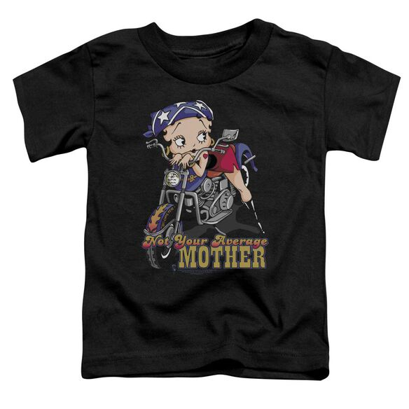 Betty Boop Not Your Average Mother Short Sleeve Toddler Tee Black Lg T-Shirt