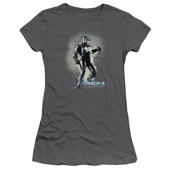 Robocop Break On Through Short Sleeve Junior Sheer T-Shirt