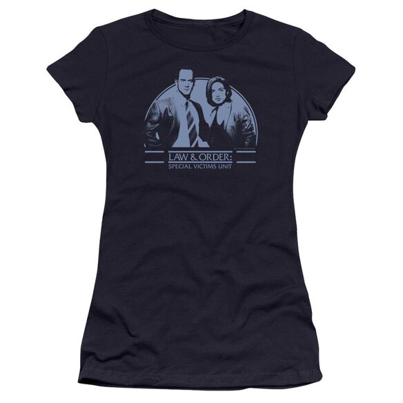 Law Order Svu Elliot And Olivia Premium Bella Junior Sheer Jersey