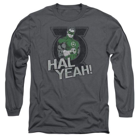 Green Lantern Hal Yeah Long Sleeve Adult T-Shirt