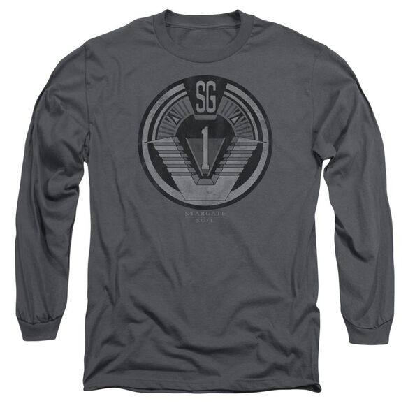 Sg1 Team Badge Long Sleeve Adult T-Shirt