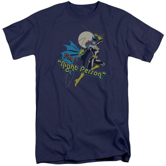Dc Night Person Short Sleeve Adult Tall T-Shirt