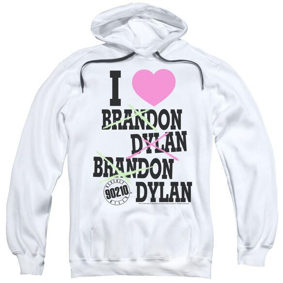 90210 I Heart 90210 Adult Pull Over Hoodie