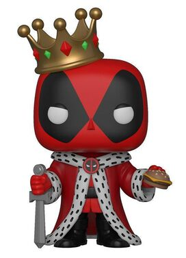 Funko Marvel Deadpool Pop: King Deadpool
