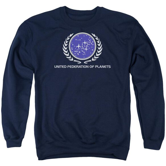Star Trek United Federation Logo Adult Crewneck Sweatshirt