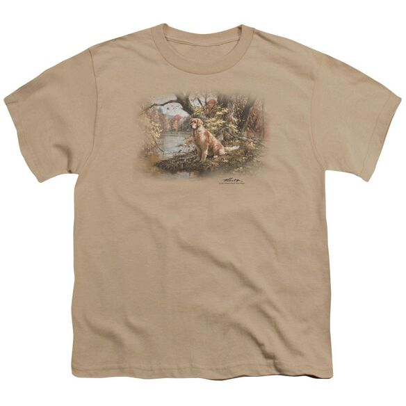 Wildlife Ready To Go On Short Sleeve Youth T-Shirt