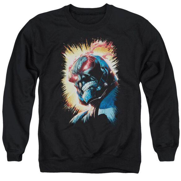 Jla Darkseid Is Adult Crewneck Sweatshirt
