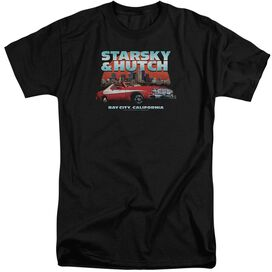 Starsky And Hutch Bay City Short Sleeve Adult Tall T-Shirt