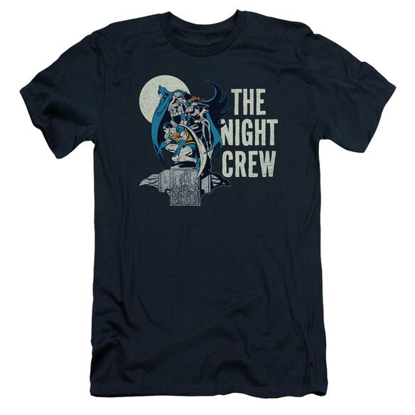 Dc Night Crew Short Sleeve Adult T-Shirt