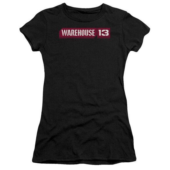 Warehouse 13 Logo Premium Bella Junior Sheer Jersey