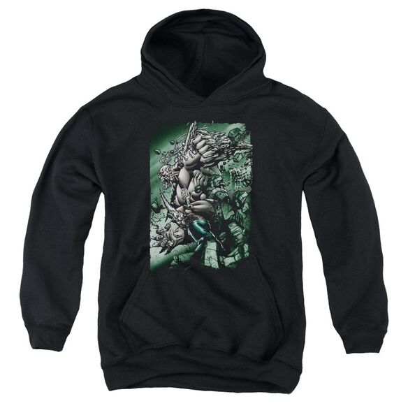 Superman Doomsday Destruction Youth Pull Over Hoodie