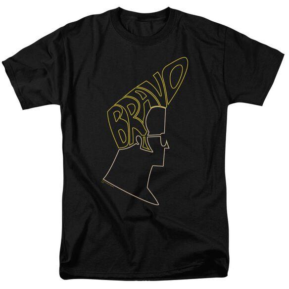 Johnny Bravo Bravo Hair Short Sleeve Adult T-Shirt