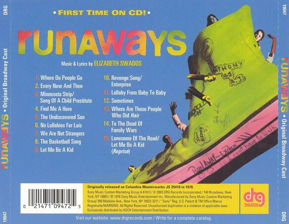 Runaways Original Broadwa