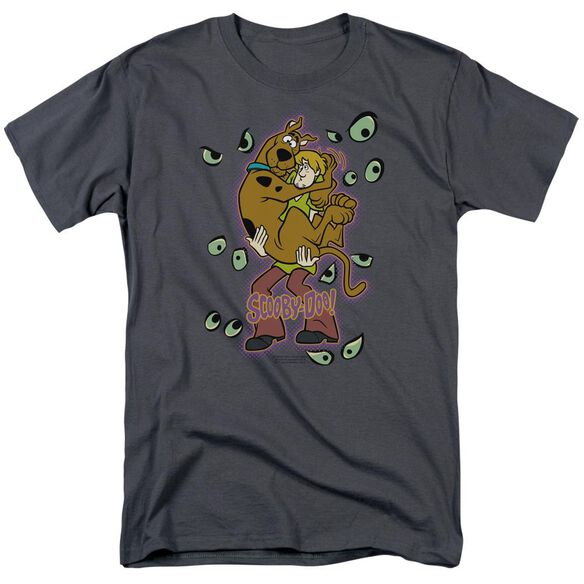 Scooby Doo Being Watched Short Sleeve Adult T-Shirt