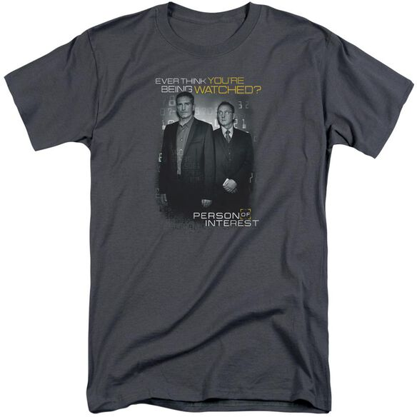 Person Of Interest Watched Short Sleeve Adult Tall T-Shirt