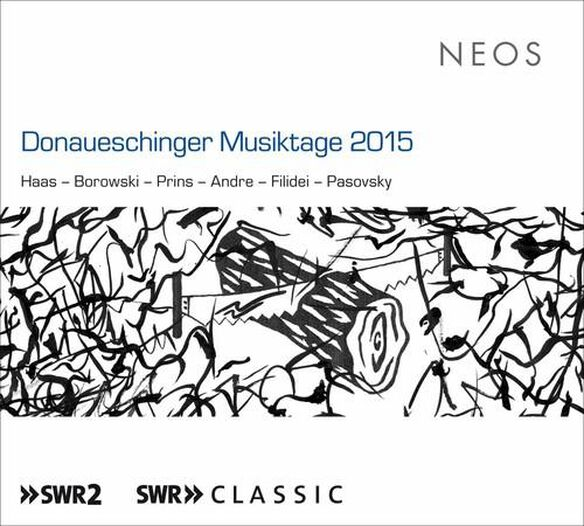 Donaueschinger Musiktage 2015 / Various (Wscd)