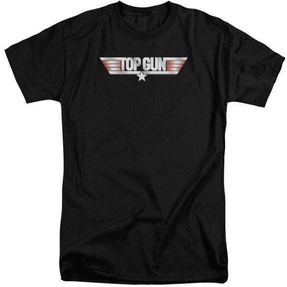 Top Gun Logo Short Sleeve Adult Tall T-Shirt